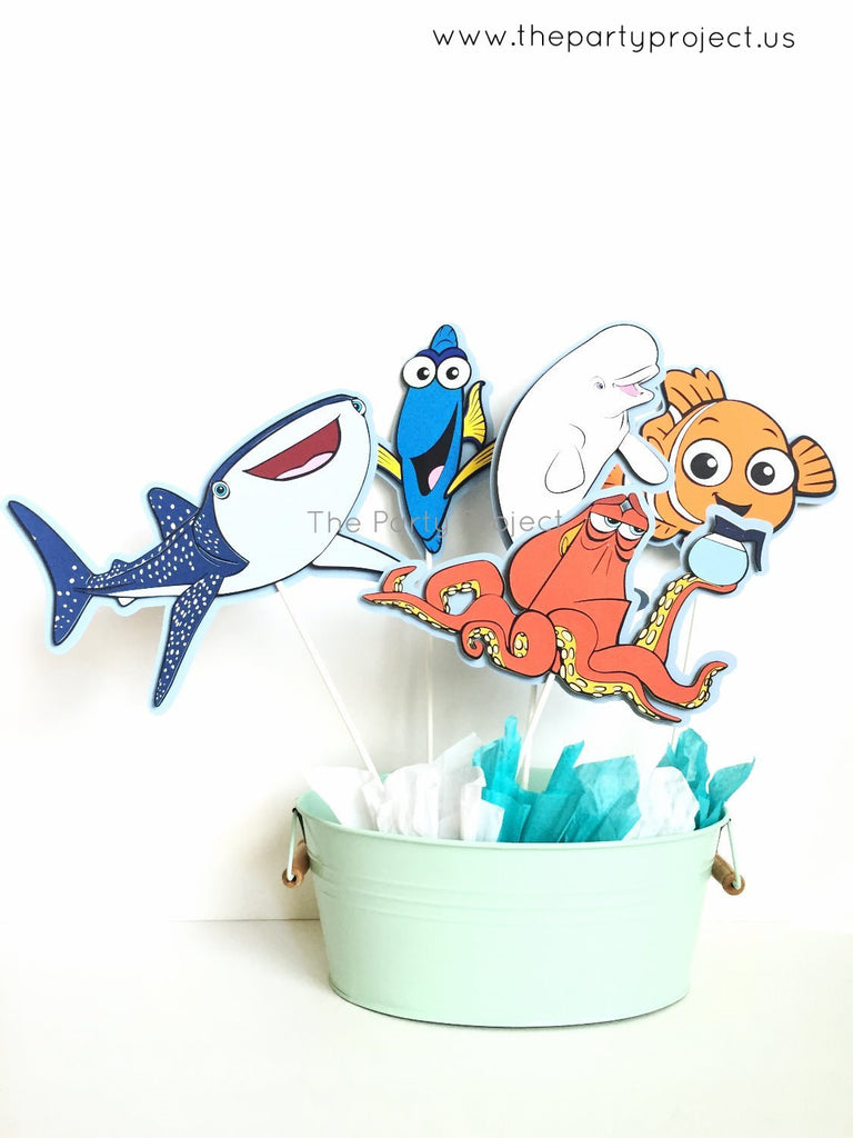 Finding DORY Centerpiece | Finding Dory party decor.