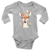 Hippie baby girl clothes - Hipster baby clothes - Deer Baby Clothes - Cute Deer - Babys First - Girls - Shower - Gift Ideas