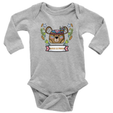Hippie baby girl clothes - Hipster baby clothes - Bear Baby Clothes - Cute Bear