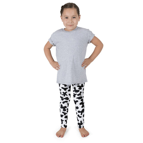 THE PARTY PROJECT | Cow print kids leggings | Girls birtdhday outfit!