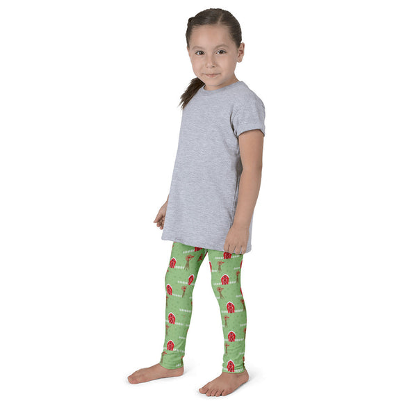 THE PARTY PROJECT | Barnyard birthday kids leggings!