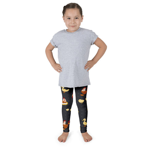 THE PARTY PROJECT | Chicken kids leggings! barnyard birthday clothes!
