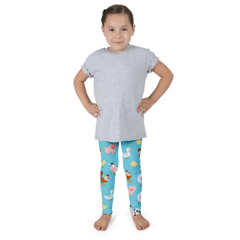 THE PARTY PROJECT | Farm animals birthday outfit - Kids leggings!