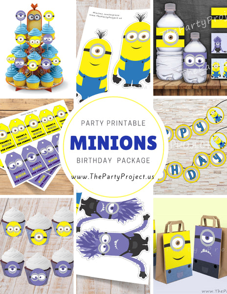 THE PARTY PROJECT | Minions birthday package