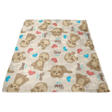 Lovey Sloths - Lovey - Sloth Lovey - Security Blanket -