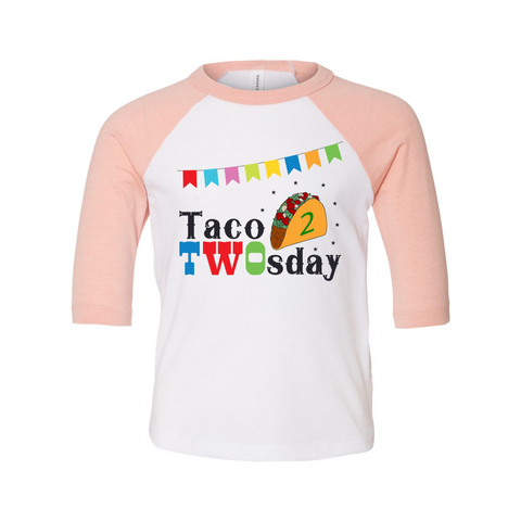 Taco Twosday Toddler Shirt, Birthday Clothes