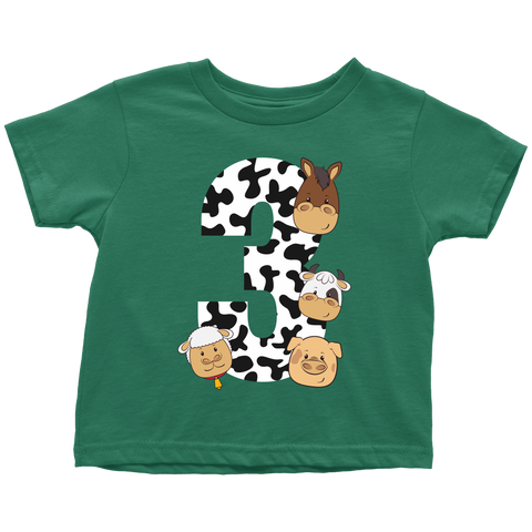 THE PARTY PROJECT | Barnyard toddler clothings - Farm 3rd birthday party!