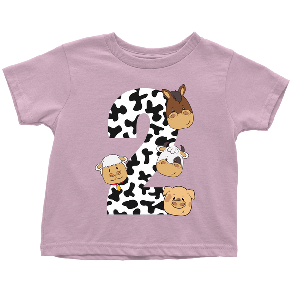 THE PARTY PROJECT | Barnyard toddler shirts | Kids graphic tees