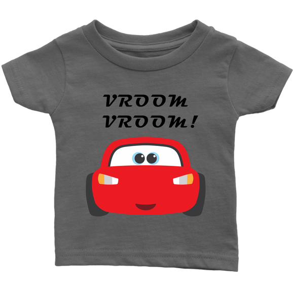 THE PARTY PROJECT | Cars baby tshirt - Lightning McQueen baby graphic tee - birthday party outfit or gift!