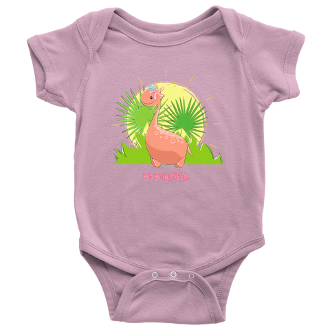 THE PARTY PROJECT | Dinosaur onesie | Be beautiful Girl dino bodysuit!