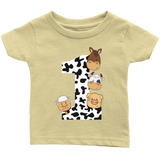 THE PARTY PROJECT | barnyard Baby clothing - Farm first birthday T-shirt