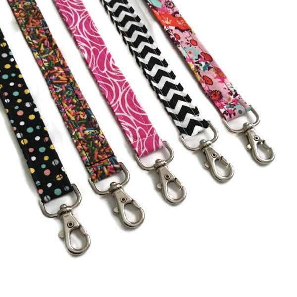 Lanyard - Silver Clasp - Personalization Available