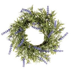 English Lavender Wreath