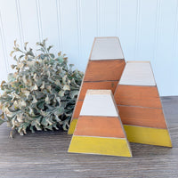 Chunky Shiplap Candy Corn Set DIY Kit