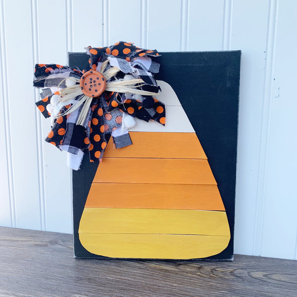Shiplap Candy Corn Sign DIY Kit