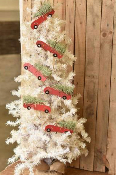 Christmas Tree Cargo Garland - 4'