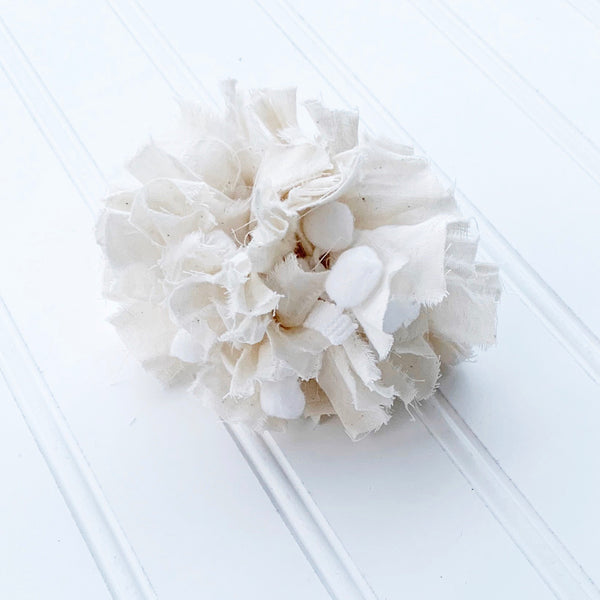 Farmhouse Neutral Fabric Pom Pom DIY Kit