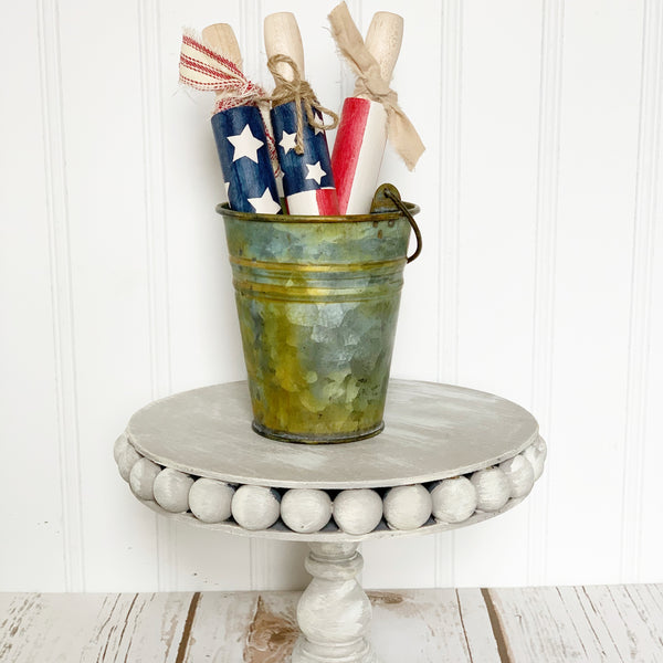 Patriotic Rolling Pin Trio - Patriotic Decor