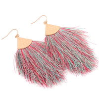Confetti Tassel Earrings