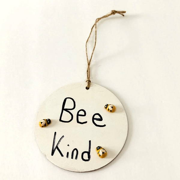 Bee-utiful Message Tag - Kids Creativity Kit