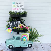 Kindness Tiered Tray Set - DIY Kit