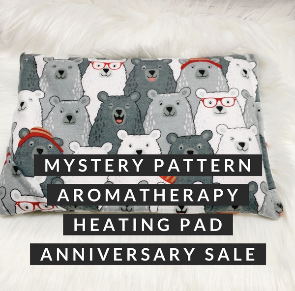 Mystery Pattern Aromatherapy Heating Pad - 4th Anniversary Sale
