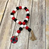 Wood Bead Garland DIY Kit