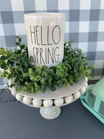 Mini Handmade Virtual Workshop March 2020 - Beaded Farmhouse Stand