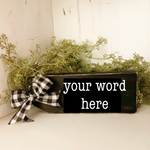 Word of the Year Tag - Made for you!