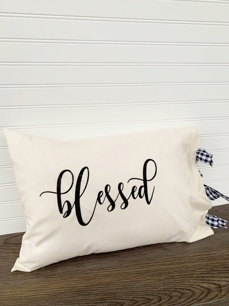 Everyday Farmhouse Decorative Pillow Case - DIY Kit