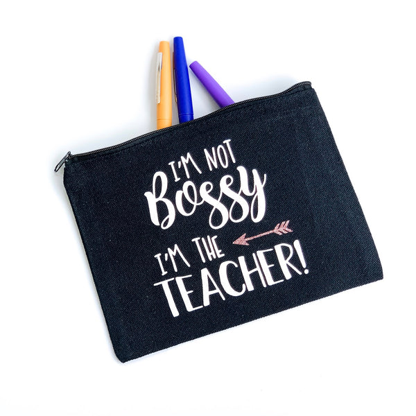 Accessory Pouch - I'm Not Bossy