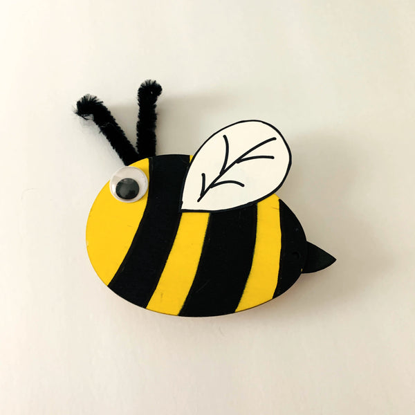 Bumble Bee Plant Clip - Kids Creativity Kit