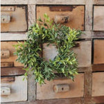 New England Boxwood Wreath/Candle Ring - Mini
