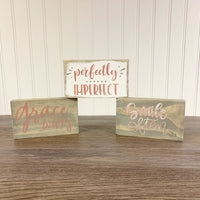 Inspirational Mini Sign DIY Kit Bundle