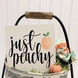 Just Peachy Virtual DIY Workshop