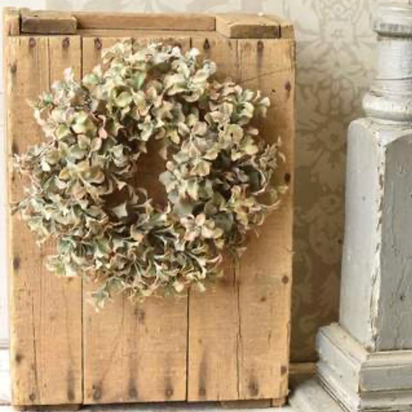 Splendid Sedum Wreath/Candle Ring
