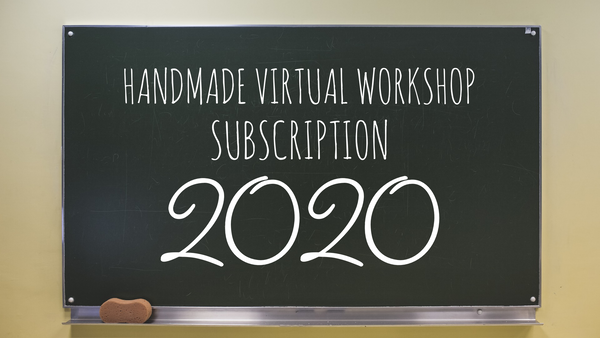 2020 Bi-monthly Virtual Workshop Subscription