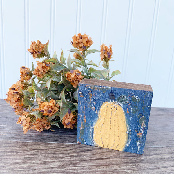 Textured Gourd Block DIY Kit