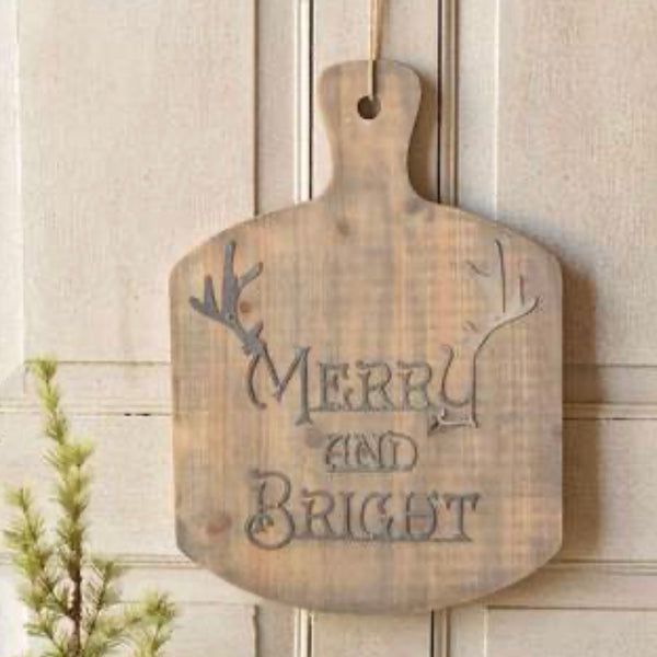 Merry & Bright Layering Board - 18.5""