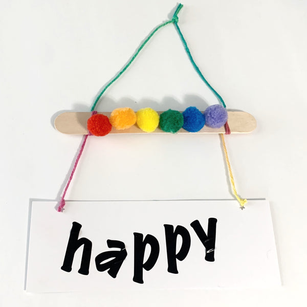 Happy Banner - Kids Creativity Kit