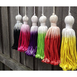 LUMIERE  ART & CO dip-dyed tassels
