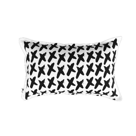 THE HOME COLLECTIVE xx cushion white on black