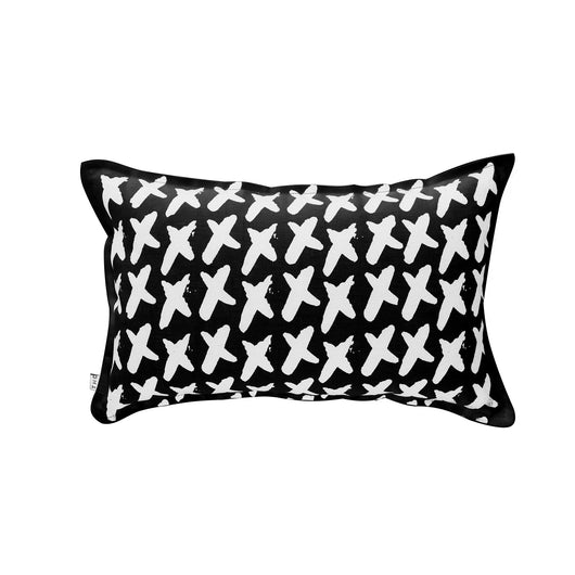 THE HOME COLLECTIVE xx cushion black on white