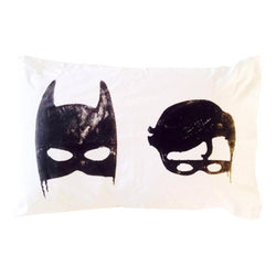 LITTLE POP STUDIO batboys pillowcase