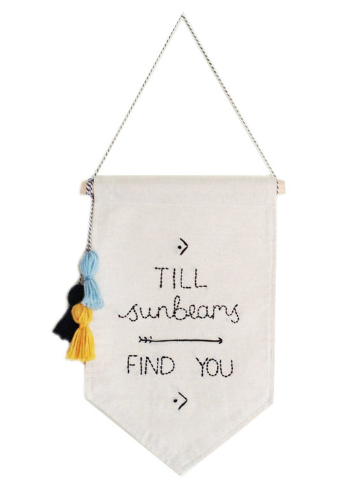 STITCH AND SHADOW till sunbeams find you banner