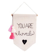 STITCH AND SHADOW you are loved banner