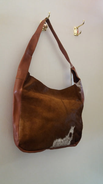 BOHEMIAN STYLE HANDCRAFTED 100% REAL LEATHER WITH NATURAL COWHIDE BAGS #2
