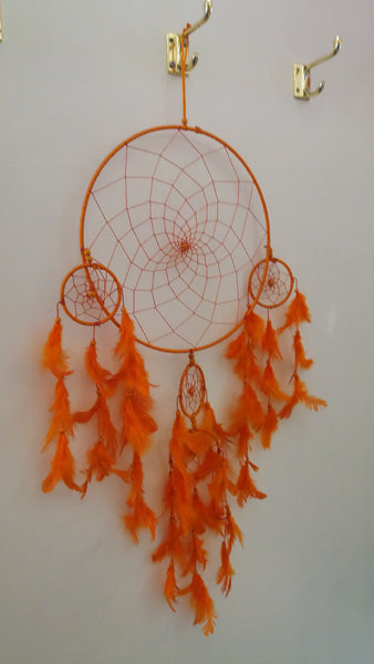Bohemian style handcrafted Big Dream catcher