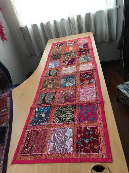 Bohemian style handcrafted Ethnic Table runners