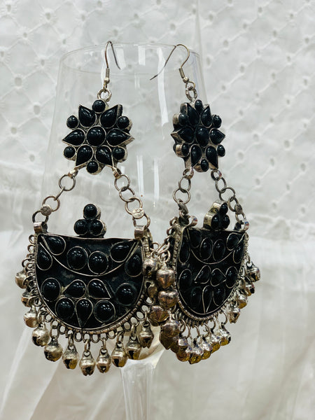 Bohemian style handcrafted earrings # 324